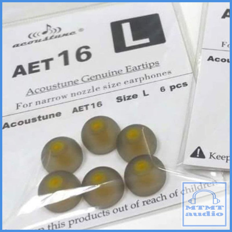Acoustune Aet16 Eartip For Shure Westone Earsonics 3 Pairs Large (3 Pairs)