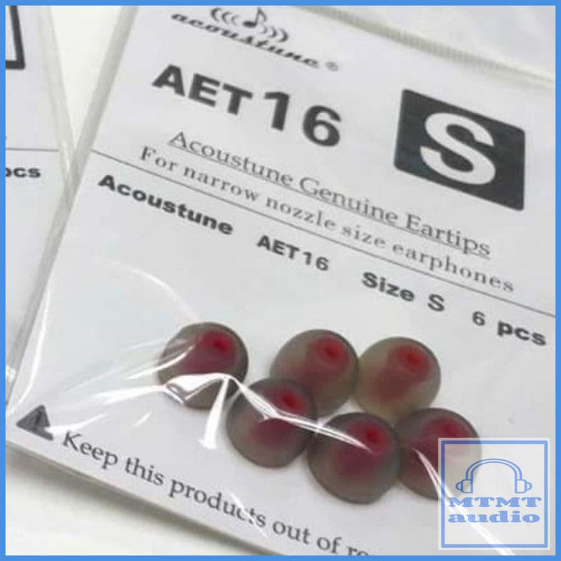 Acoustune Aet16 Eartip For Shure Westone Earsonics 3 Pairs Small (3 Pairs)