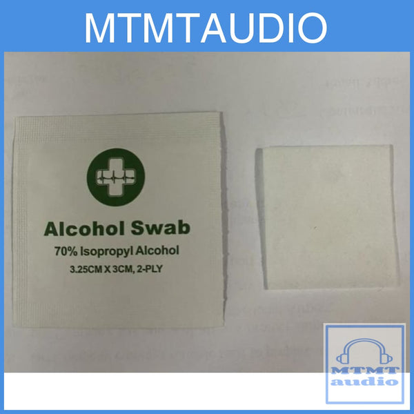 Alcohol Swabs For Cleaning Eartips