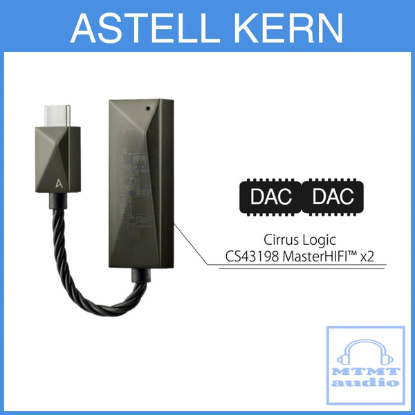 Astell Kern Ak Pee51 Usb-C Dual Dac Cable Type C To 3.5Mm Earphone Amplifier