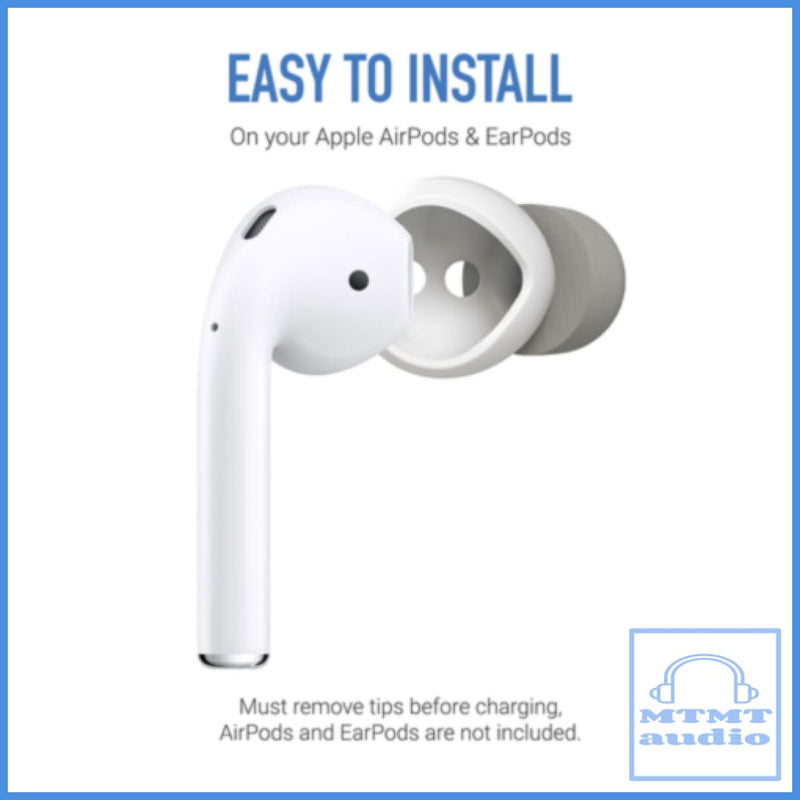 Comply Softconnect Foam For Apple Airpods Gen 1 & 2 True Wireless Pairs Eartip