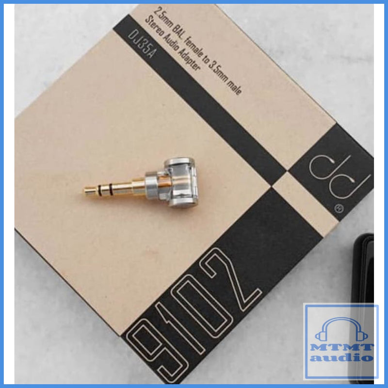 Dd Hifi Dj35A 3.5Mm Male To 2.5Mm Female Balanced Trrs Adapter