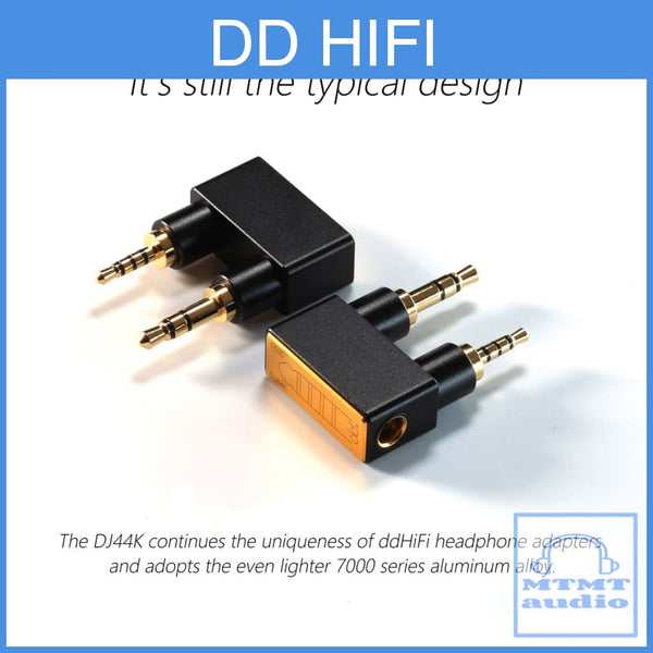 Dd Hifi Dj44K Adapter For Ak Player 2.5Mm 3.5Mm Male To 4.4Mm Female Balanced