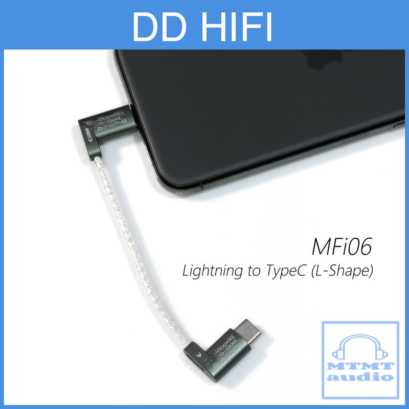 Dd Hifi Mfi06 Lightning To Type C Adapter Cable For Iphone Dap Audio Player