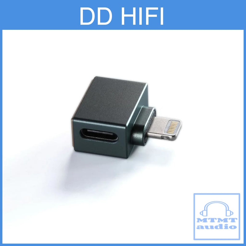 Dd Hifi Tc28I Adapter For Iphone Ios Device Lightning Male To Type C Female