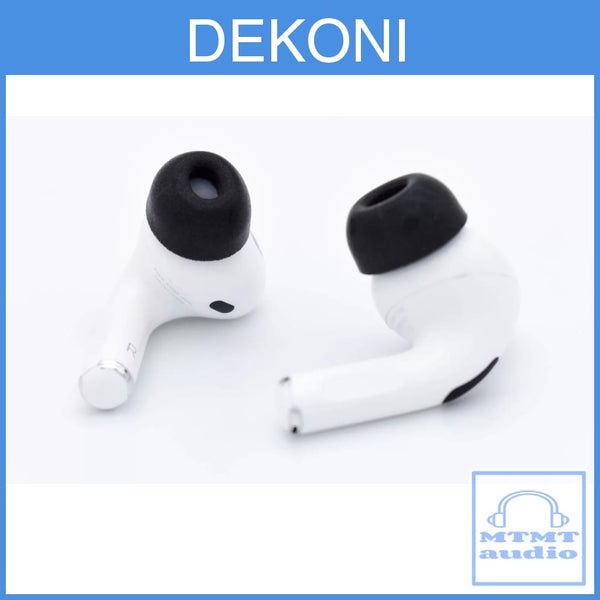 Dekoni Audio Foam Eartips For Apple Airpods Pro Memory Ear Tips 3 Pairs Eartip