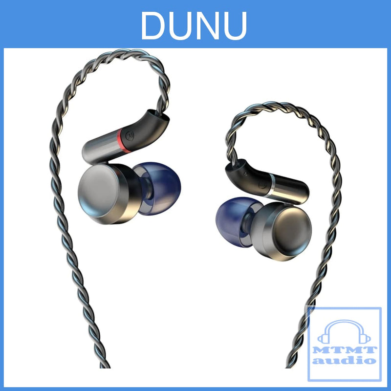 Dunu Luna Pure Beryllium Dynamic Driver With Silver-Plated Occ Mmcx Upgrade Cable Earphone