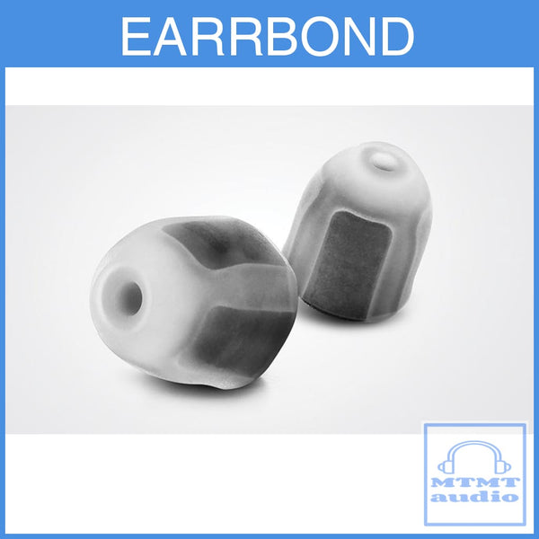 Earrbond Hybrid Silicon With Foam Inside Eartips 2 Pairs For Shure Westone Eartip