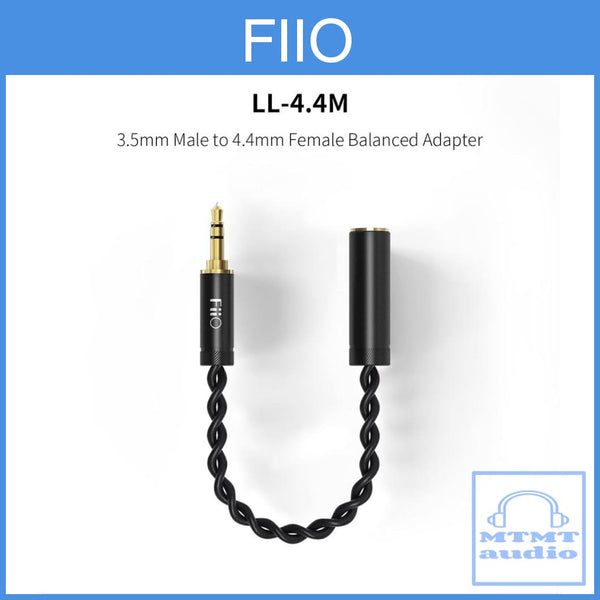 Fiio Ll-4.4M 4.4Mm Female Trrrs To 3.5Mm Male Adapter