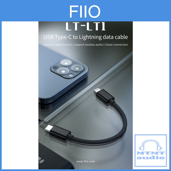 Fiio Lt-Lt1 Type C To Lightning Adapter For Iphone Ipad Ipod Ios Devices