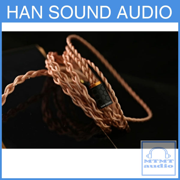 Han Sound Audio Zentoo Plus In-Ear Monitor Iem Earphone Upgrade Cable