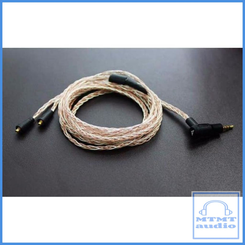 Ibasso Cb12 Bronze Single Crystal Silver / Copper Mmcx 2.5Mm Balance Upgrade Cable