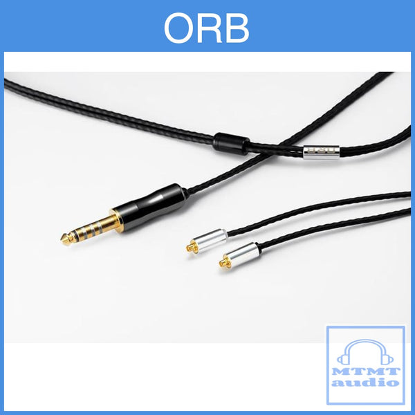 Orb Clear Force Ultimate Copper Mmcx Cm Iem Headphone Upgrade Cable 2-Pin / 4.4Mm Balance Custom