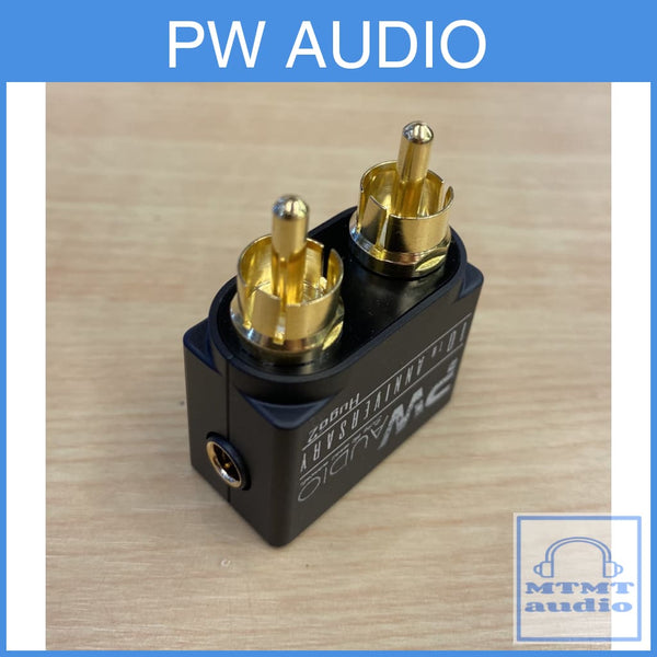 Pw Audio 2.5Mm Female To Rca Male Adapter For Chord Hugo Amplifier
