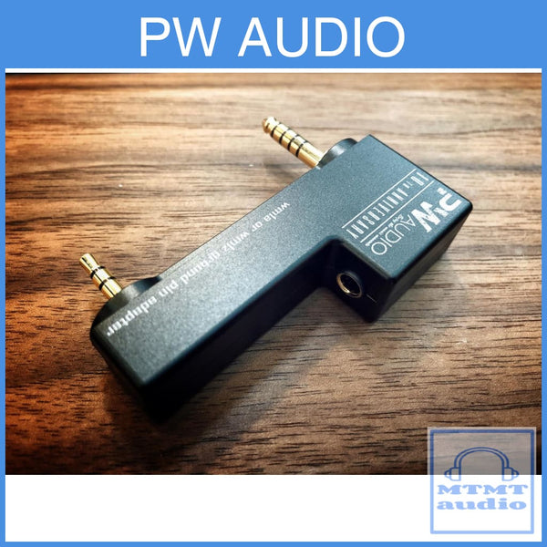 Pw Audio 4.4Mm Female Adapter For Sony Wm1A Wm1Z Digital Player Dap