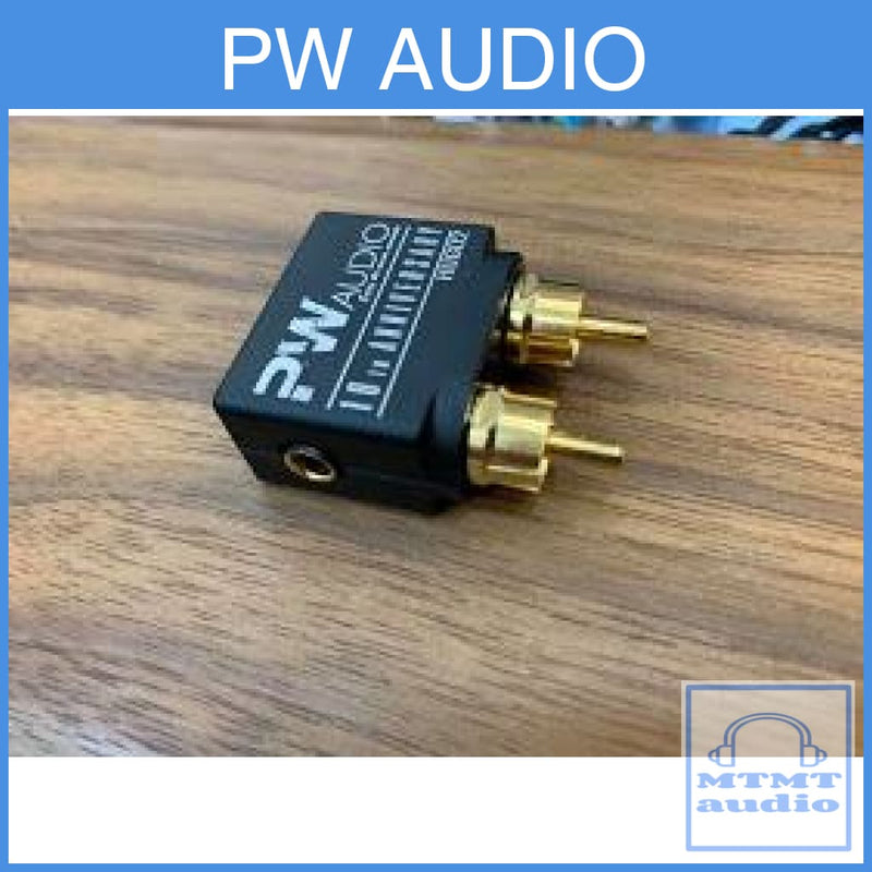 Pw Audio 4.4Mm Female To Rca Male Adapter For Chord Hugo 2 Amplifier
