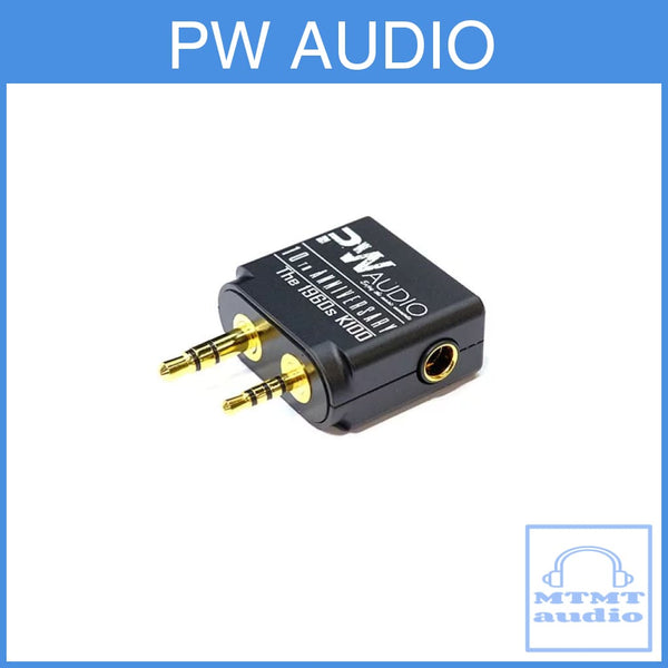 Pw Audio Adapter 4.4Mm Female To 2.5Mm 3.5Mm Male For Kontinum K100 Player Dap