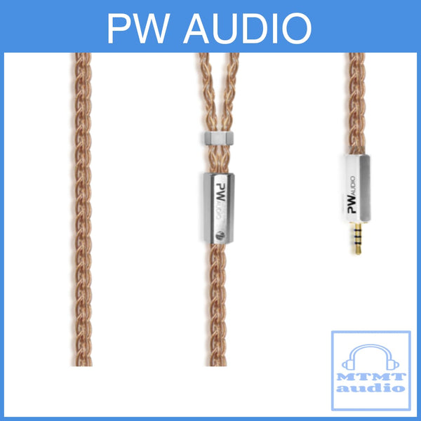 Pw Audio Anniversary Series Number 5 No.5 8-Wire Headphone Upgrade Cable