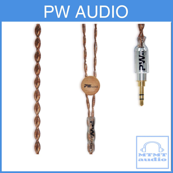 Pw Audio Anniversary Series Number 5 No.5 Headphone Upgrade Cable