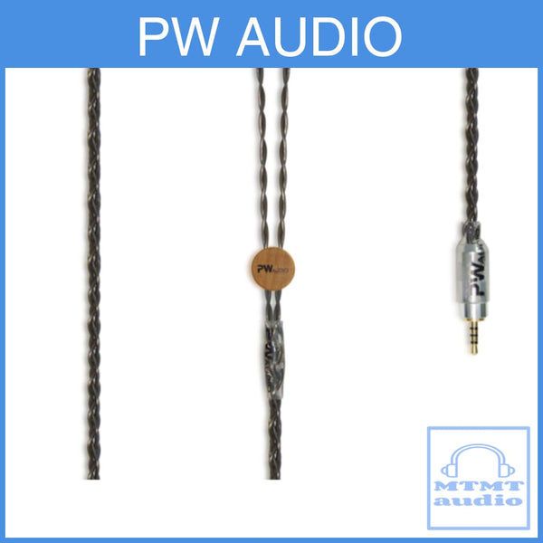 Pw Audio Blackicon Series Pure Silver Headphone Upgrade Cable