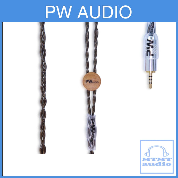 Pw Audio Blackicon Series Silver Gold Headphone Upgrade Cable