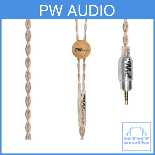Pw Audio Sevenfold Pipe Series Copper Headphone Upgrade Cable