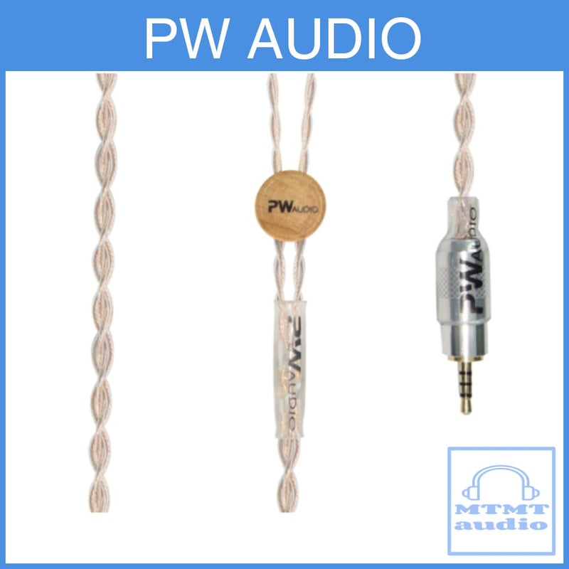 Pw Audio Sevenfold Pipe Series Silver Copper Headphone Upgrade Cable