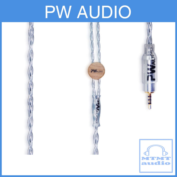 Pw Audio Sevenfold Pipe Series Silver Plated Copper Headphone Upgrade Cable
