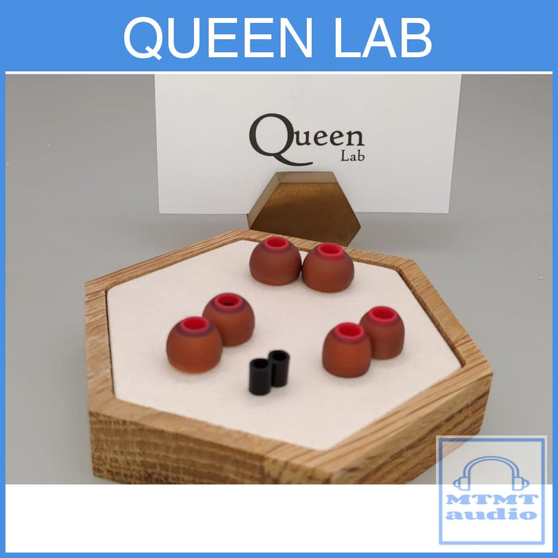 Queen Lab Hybrid Silicon With Foam Inside Eartips Small Medium Large 3 Sizes Eartip