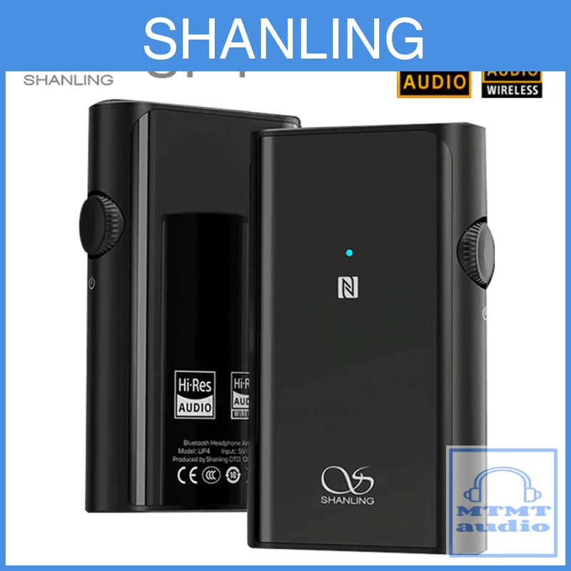 Shanling Up4 Wireless Bluetooth Amplifier With Dual Dac For 2.5Mm 3.5Mm Earphone