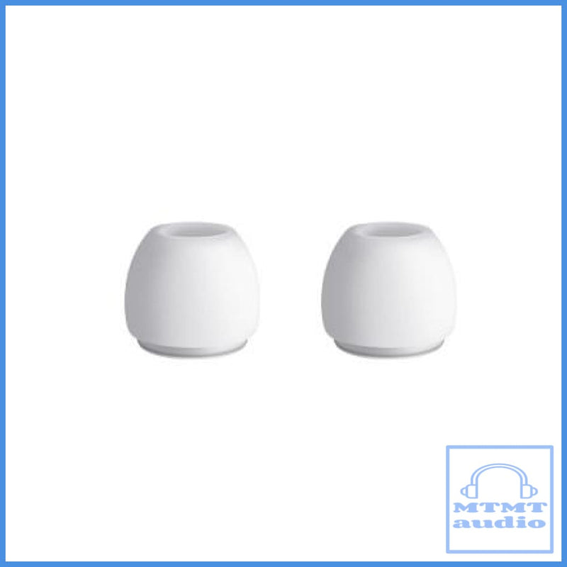 White Silicon Eartips For Apple Airpods Pro True Wireless Earphone Small S - 1 Pair Eartip