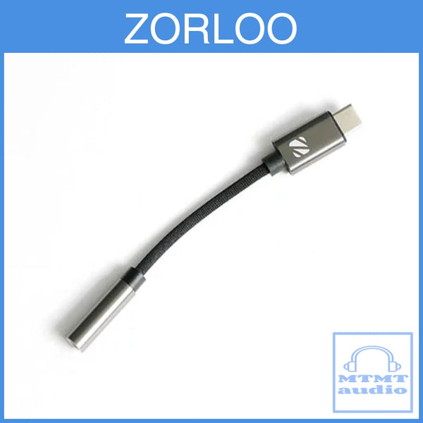 Zorloo Ztella Type C Hi-Res Audio Decoder Adapter For 3.5Mm Earphone