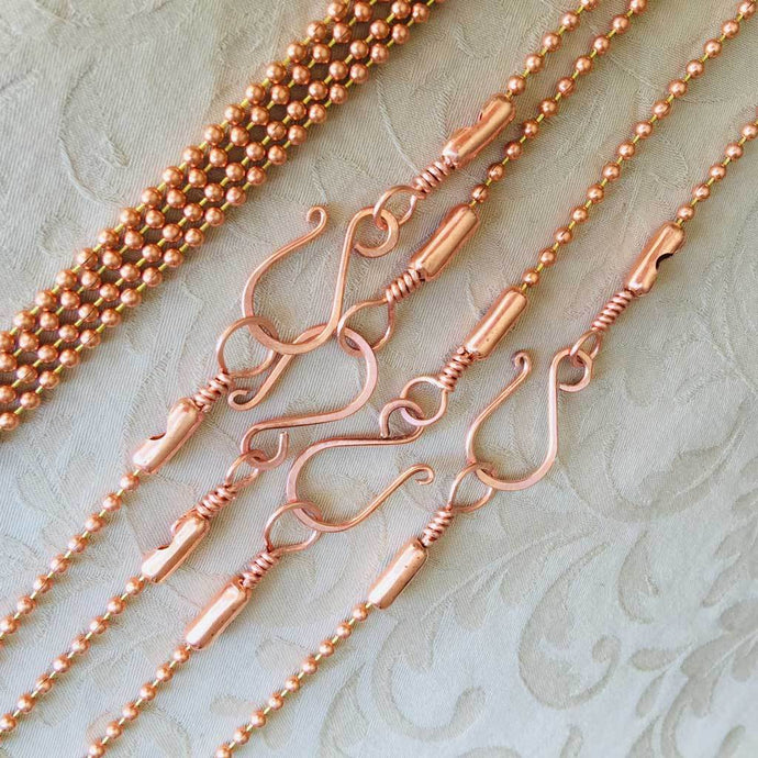 Wire Hook Bead Chain Tutorial