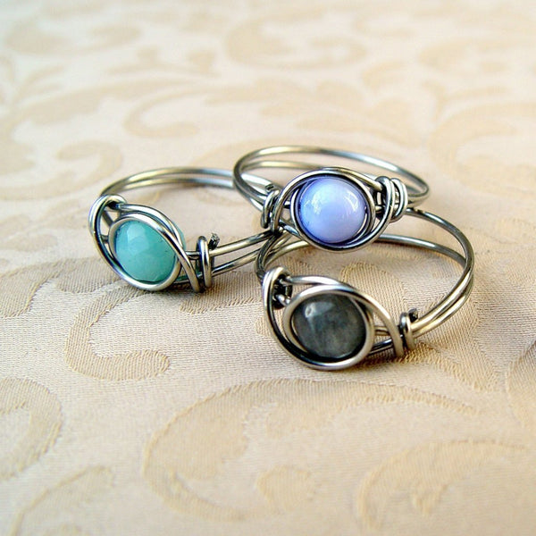 Wire Stack Ring Tutorial