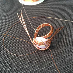 Boho Wire Wrap Ring Tutorial
