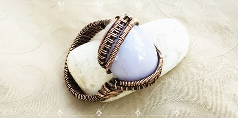 Boho Wire Wrap Ring Turtorial