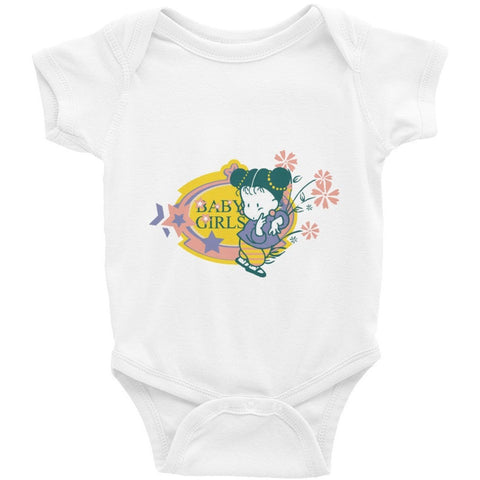 Baby Girls Infant Short Sleeve One-Piece - Baby Belief