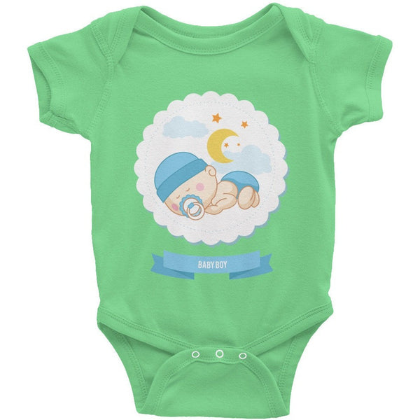 Baby Boy Infant Short Sleeve One-Piece - Baby Belief