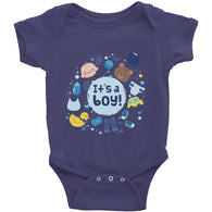 It's A Boy Infant Short Sleeve One-Piece - Baby Belief