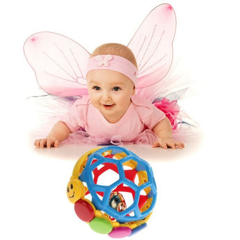 Multicolor Educational Bendy Ball For Babies And Toddlers - Baby Belief