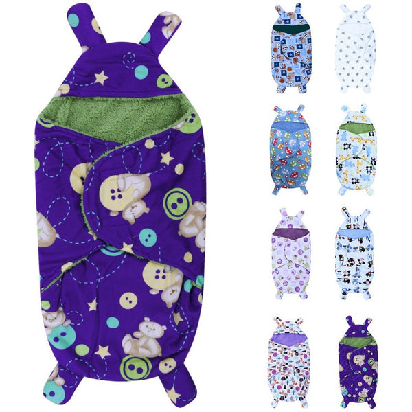 0-6M Newborn Baby Blanket Wrap / Sleeping Bag - Baby Belief