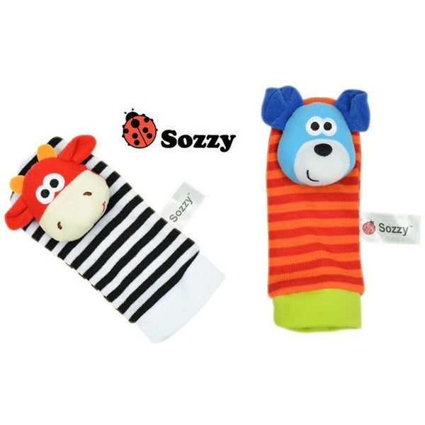 Sozzy Baby Toy Rattles - Baby Belief