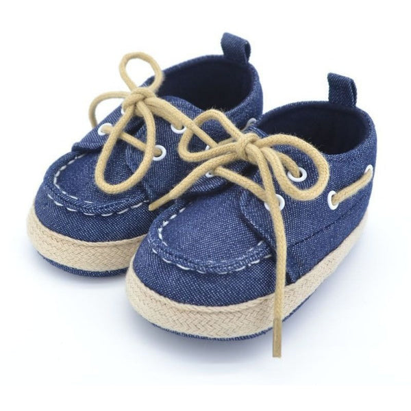 Fashionable Premium Baby Prewalker Soft Sole Shoes - Baby Belief