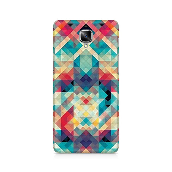Abstract Criss Cross Premium Printed OnePlus 3 Case