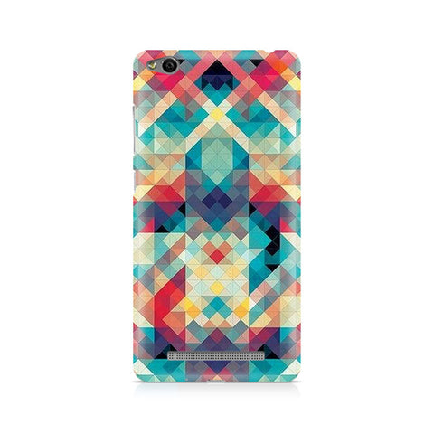 Abstract Criss Cross Premium Printed Xiaomi Redmi 3S Case