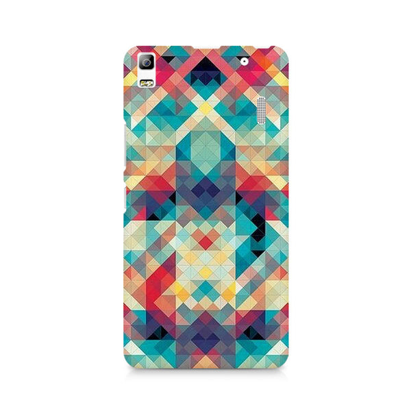 Abstract Criss Cross Premium Printed Lenovo A7000 Case