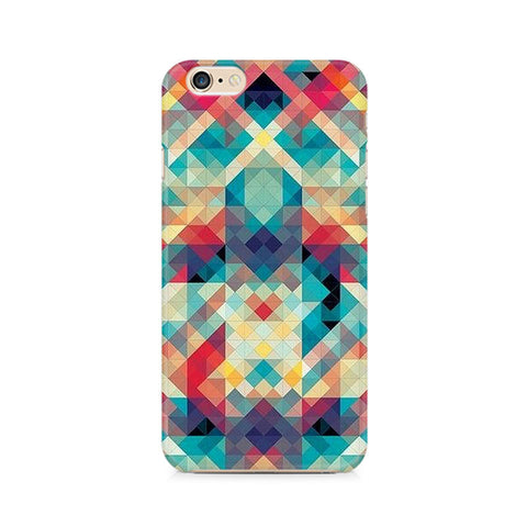 Abstract Criss Cross Premium Printed iPhone 6/6S Case