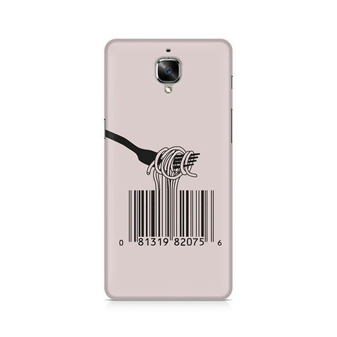 Barcode Noodels Premium Printed OnePlus 3 Case
