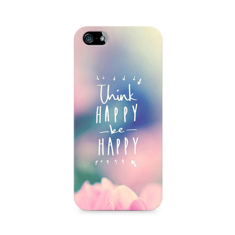 Be Happy Premium Printed iPhone 4/4S Case