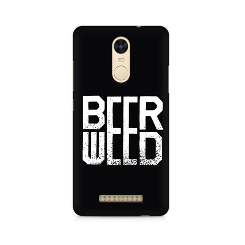BeerWeed Premium Printed Xiaomi Redmi Note 3 Case